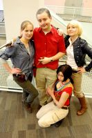 Uncharted Cosplay: Ladies Can't Resist by LadyofRohan87