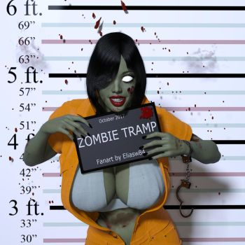Zombie Tramp Cover #26 Cover C Fanart by eliasw84