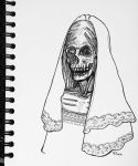 Corpse Bride (Day 27) by eewill