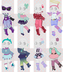 Outfit Adopts (closed) by StaceyIrodaBrine