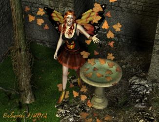 Welcome,  Leafy Autumn by FaerieDanse