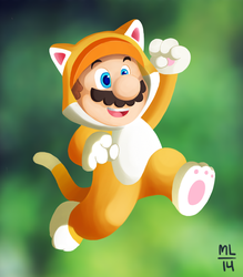 Mario (from a current WIP) by ILoveBlueMoreThanYou