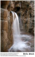 Rainforest Cafe Waterfall by Della-Stock