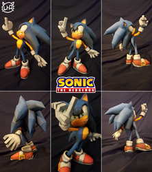 Sonic the Hedgehog PaperCraft ~ Modern Sonic ~ by SuperRetroBro