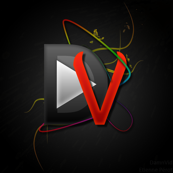 DamnVid 1.5 splashscreen by WindyPower