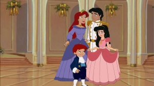 Ariel and Eric's Family Picture by AzulaLover1