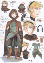 Character Sheet ~ Raiden by CrystalMelody-FT