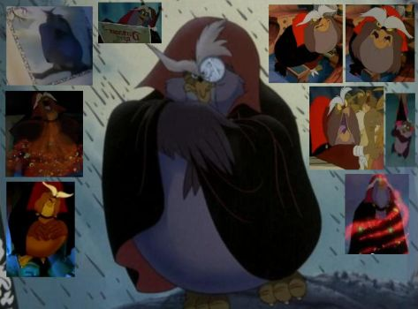 Collage: The Grand Duke of Owls by Austria-Man