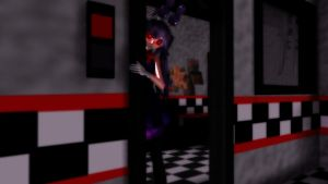 {MMD x FNaF} Hand Over My Glasses, Dear by animeMIMIC