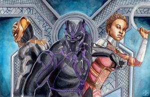 Black Panther by TheDaileyDoodle
