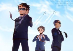 Haikyuu!! Bodyguards AU by Suncelia