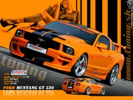 Ford Mustang GT wallpaper by TuningmagNet