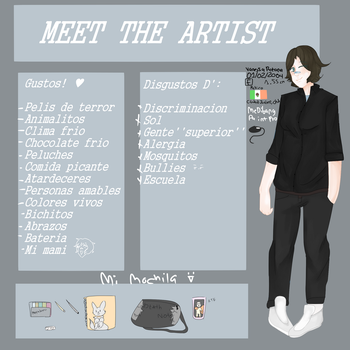-Meet the artist- by Mexican-cyborg