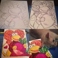Red Fraggle by MaryBellamy