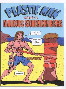 Plastic Man vs MSchenkenberg by Thingama99