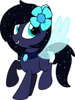 .::Commission::. Waterfall Pone by Frozen--Star