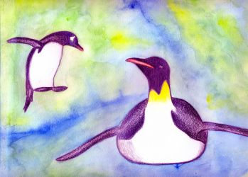 Penguins - finished (for real!) by luartandcomics