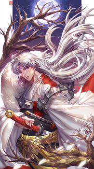 Sesshomaru by hotpppink