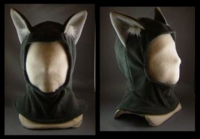 Wolf Hoodie Hat two color by MissRaptor
