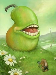 The Biting Pear of Salamanca by ursulav