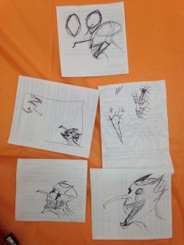 Creep sketches for laptop art by EpicsofNoche