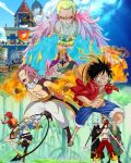 Straw Hats X Fairy Tail by unitedtribute1