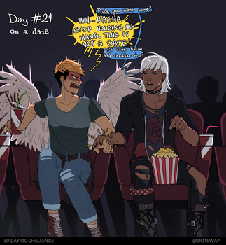 Day 21 - on a date by Dotswap