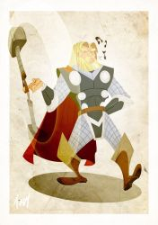 Behold Thor by Tursy