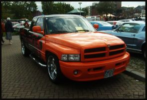 Dodge Ram Pick-up Custom by compaan-art