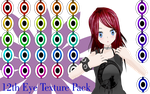 MMD Twelfth Eye Texture Pack by MMD-Nay-PMD