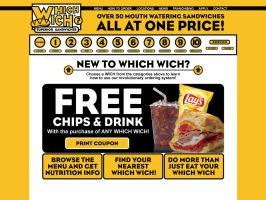 Which Wich Website Proposal by tlsivart