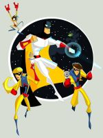 Space Ghost by kidbuda
