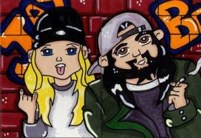 Jay and Silent Bob by CassieJ787