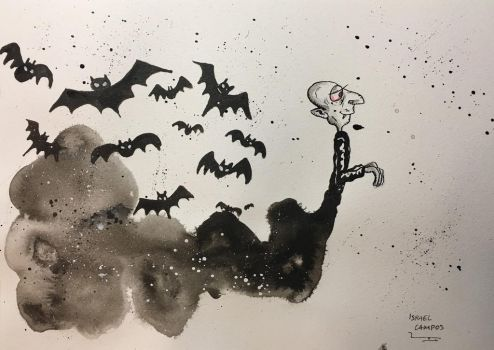 Chas! And the vampire appears. by IsraelCampos