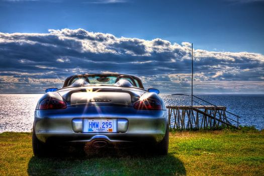 My Porsche Boxster HDR by Witch-Dr-Tim