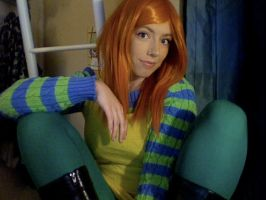 Audrey from The Lorax Cosplay 1 by TibsisTops