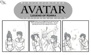 Avatar: Korra and Tenzin? by DarkKenjie