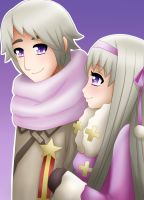 APH - Russia - Ivan and Anya 2 by LadyGalatee