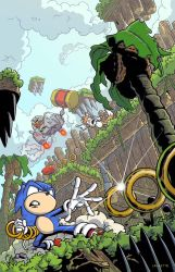 Sonic The Hedgehog by MikeLancetteArt