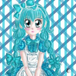 Adotable | Blue Girl by Loves2LucyD19