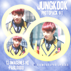 JUNGKOOK (BTS) - PHOTOPACK #1 by DoomDada-Photopacks