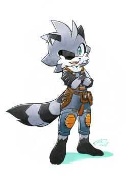 AT: Stripes the Guardian by FinikArt