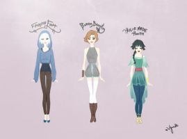 Femme Fashion from Rise of the Guardians by Vynndetta