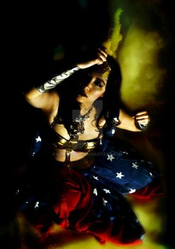 Bellydance Wonder Woman: 02 by prismkitty