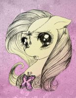 The Kindest little Fluttershy you ever saw by MewKaylathevampire