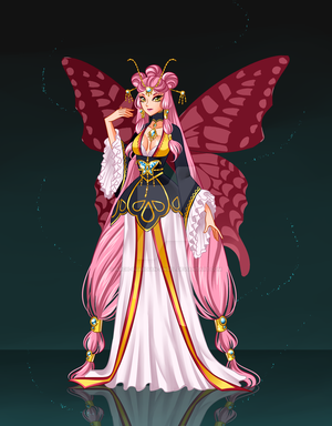 Fairy Guardian Lady Papillon by Arch-Guardian-Angel