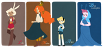lineup by mintycanoodles