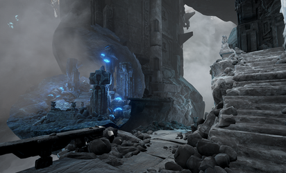 Obduction Press Release (featuring WIP screenshot) by SandboxAlchemy