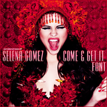Come And Get It Font. by JustCrankItUpTisdale