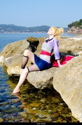 Sand background 2 ~ Temari Cosplay by Temari-ore-no-yume